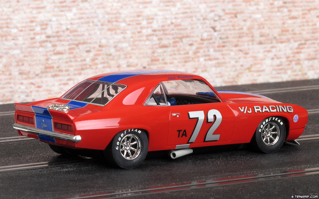 C2577 1969 Chevrolet Camaro - #72 V/J Racing. Historic Trans-Am ...