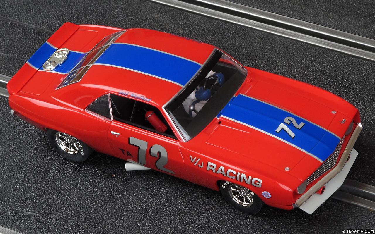 Scalextric C2577 - 1969 Chevrolet Camaro. #72 V/J Racing