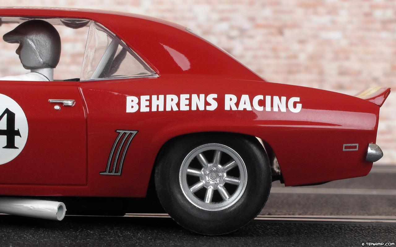 Chevrolet Camaro 1969 >> Scalextric C2740 - 1969 Chevrolet Camaro. #74 Behrens Racing