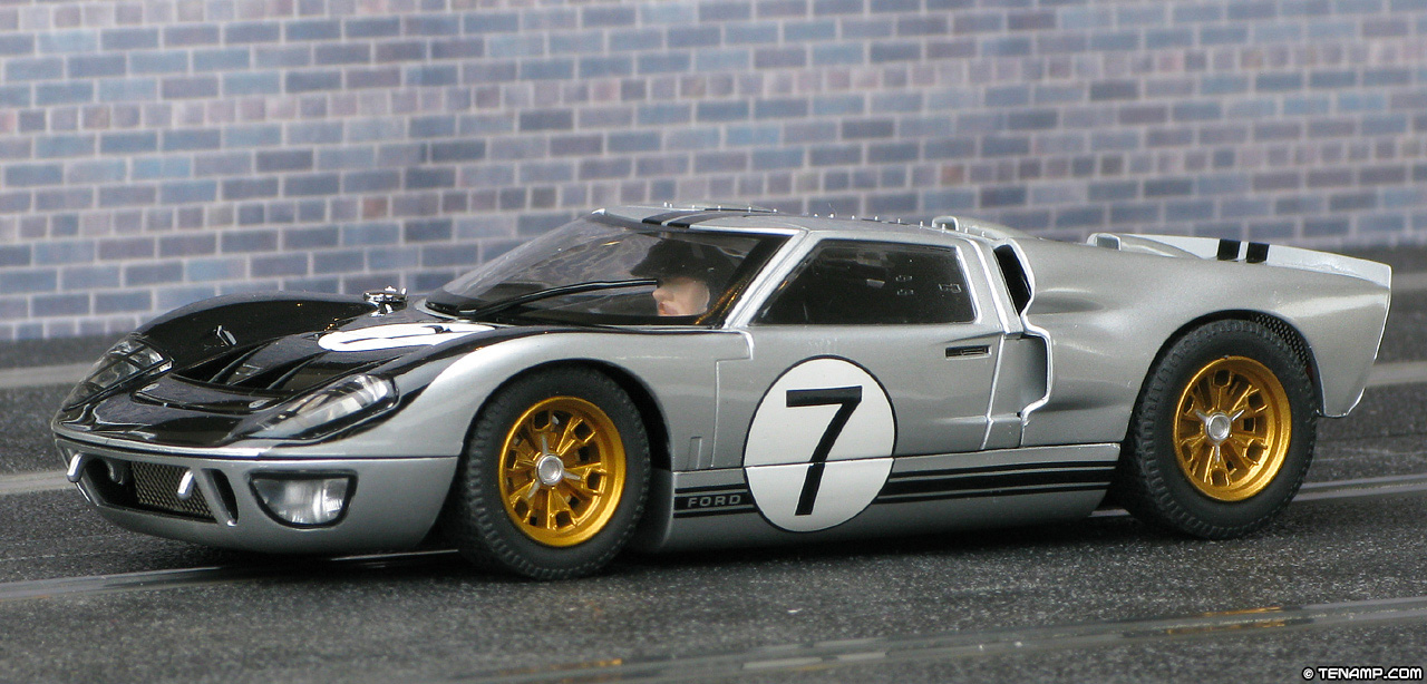 scalextric c2917 ford gt40 mk2 7 le mans 24hrs 1966 - 1966 Ford Gt40 Mk2