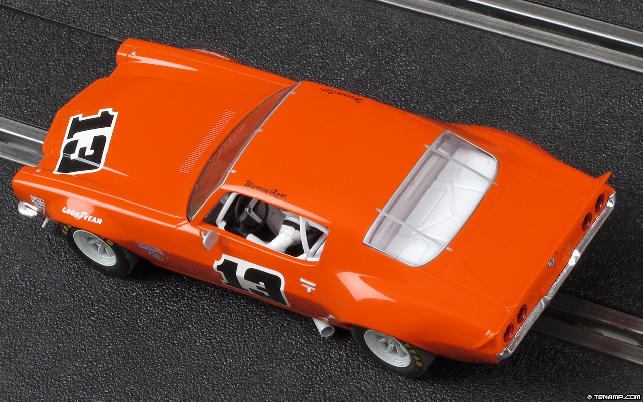 Scalextric C3001 1970 Chevrolet Camaro 13 Warren Agor