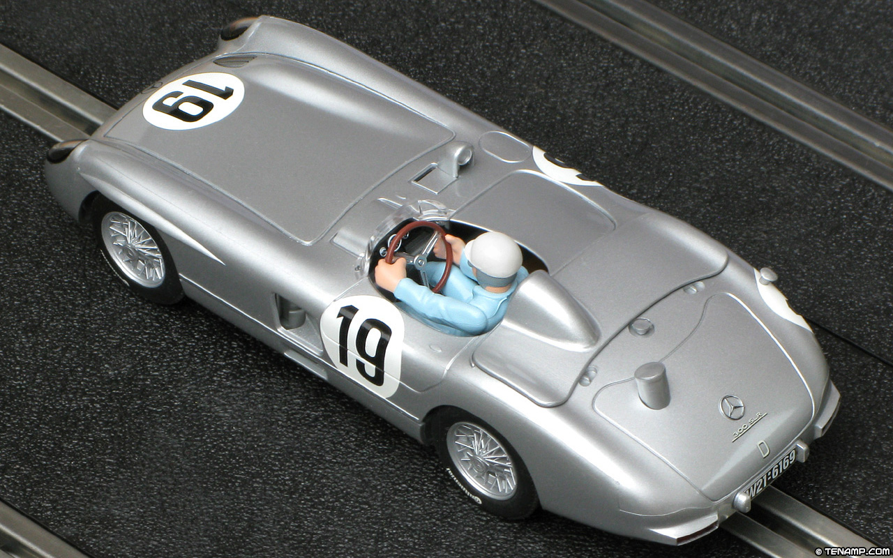 Scalextric C3024 Mercedes Benz 300 Slr 19 Le Mans 24hrs