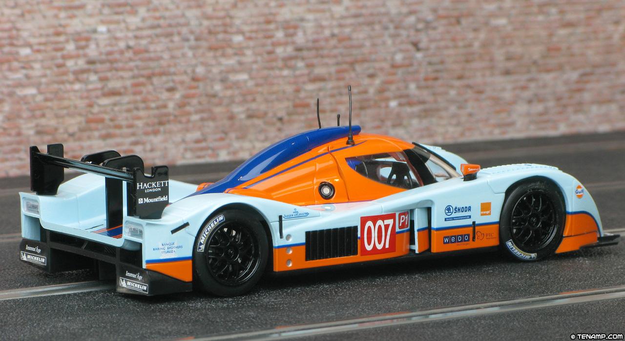 Scalextric C3057w Lola Aston Martin Dbr1 2 007 Gulf