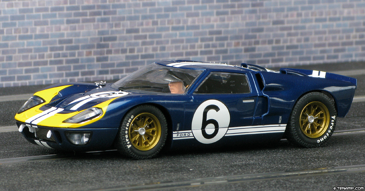 scalextric c3097 ford gt40 mk2 02 - 1966 Ford Gt40 Mk2
