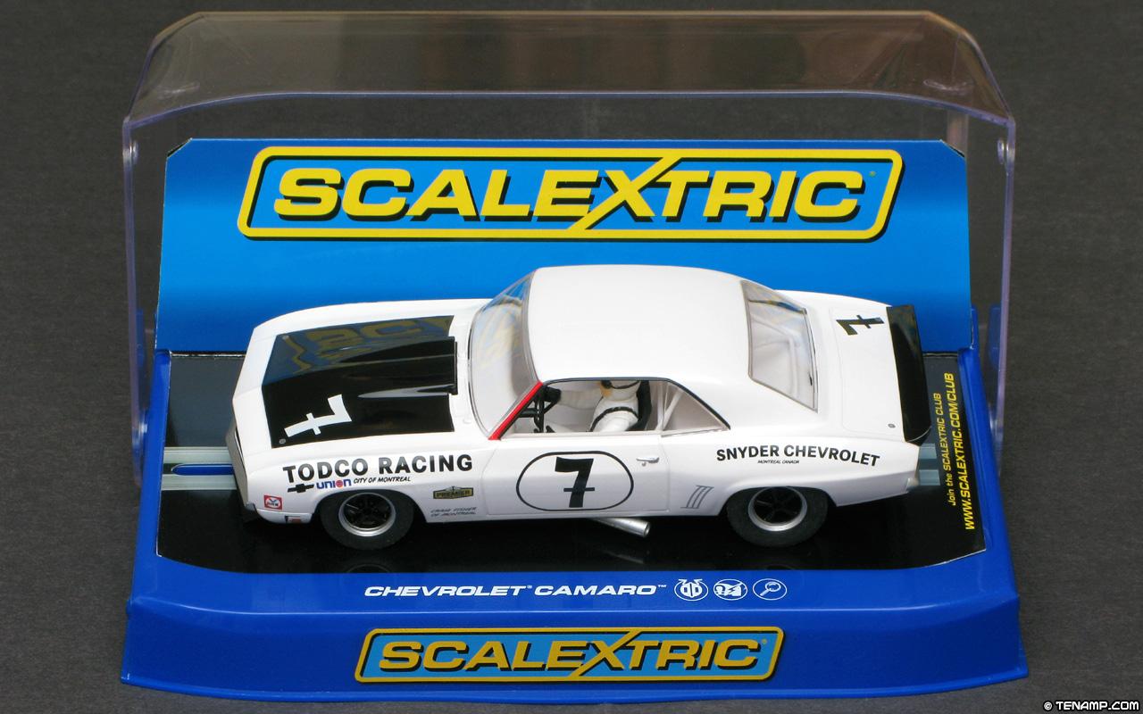 Scalextric C3221 Chevrolet Camaro - #7 Todco Racing 1969
