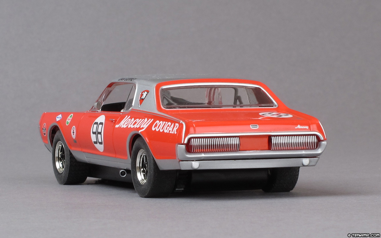 Scalextric C3418 Mercury Cougar 98 Dan Gurney Trans Am