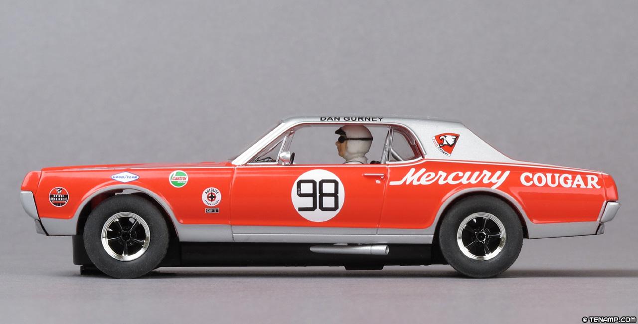 Scalextric C3418 Mercury Cougar 98 Dan Gurney Trans Am 1967 06