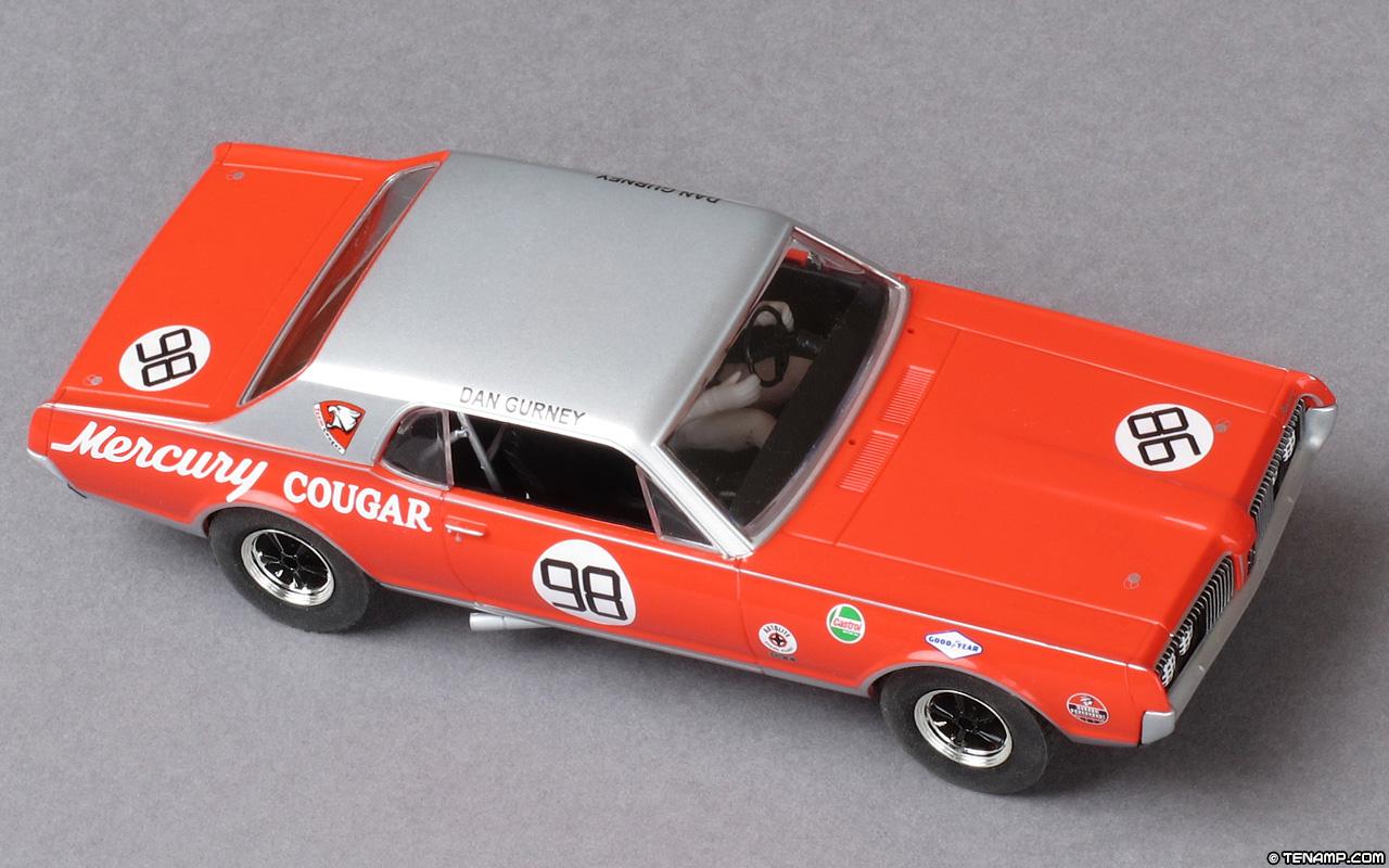 Mercury  >> Scalextric C3418 Mercury Cougar - #98 Dan Gurney. Trans-Am ...