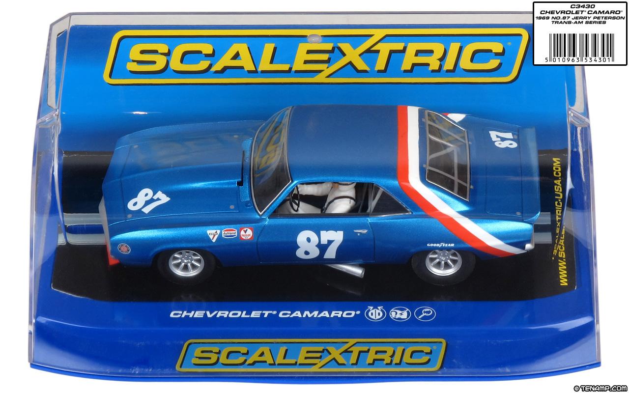 Chevrolet Camaro 1969 >> Scalextric C3430 - 1969 Chevrolet Camaro. #87 Jerry Petersen 1972