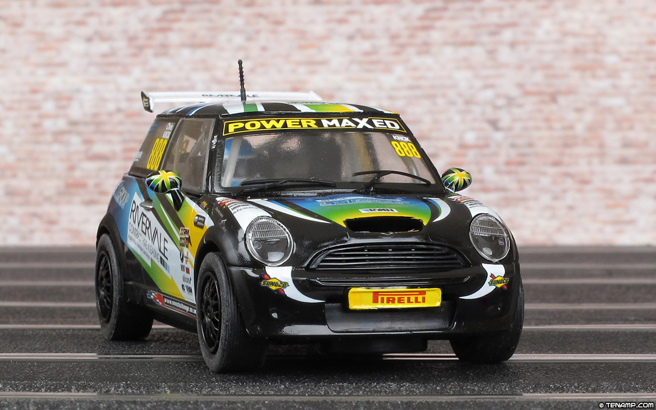 scalextric c3606 bmw mini cooper s 888 rivervale chris knox 2014. Black Bedroom Furniture Sets. Home Design Ideas