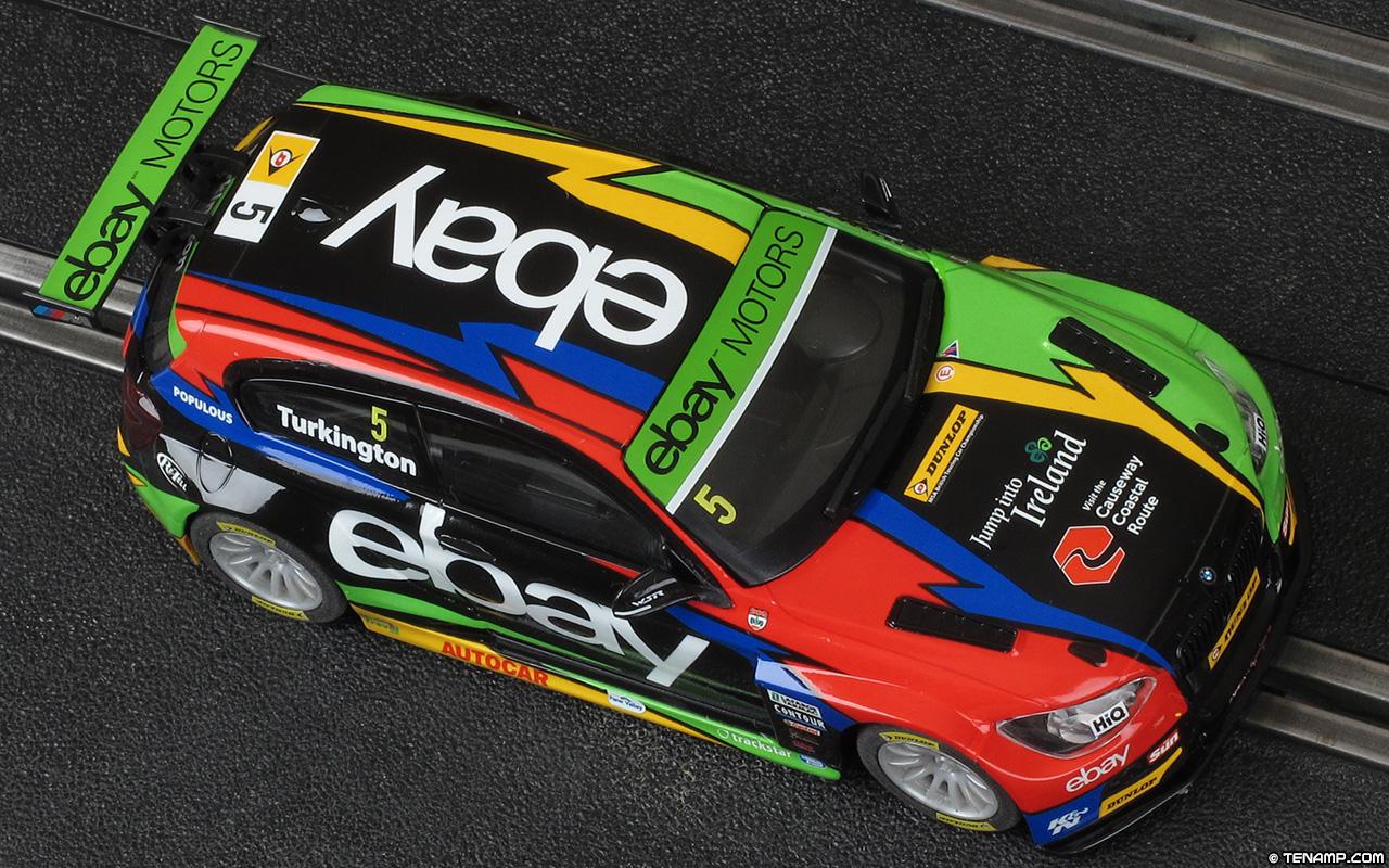Scalextric C3694a Bmw 125 5 Ebay Colin Turkington 2014 Series 125i M Sport Motors West Surrey Racing