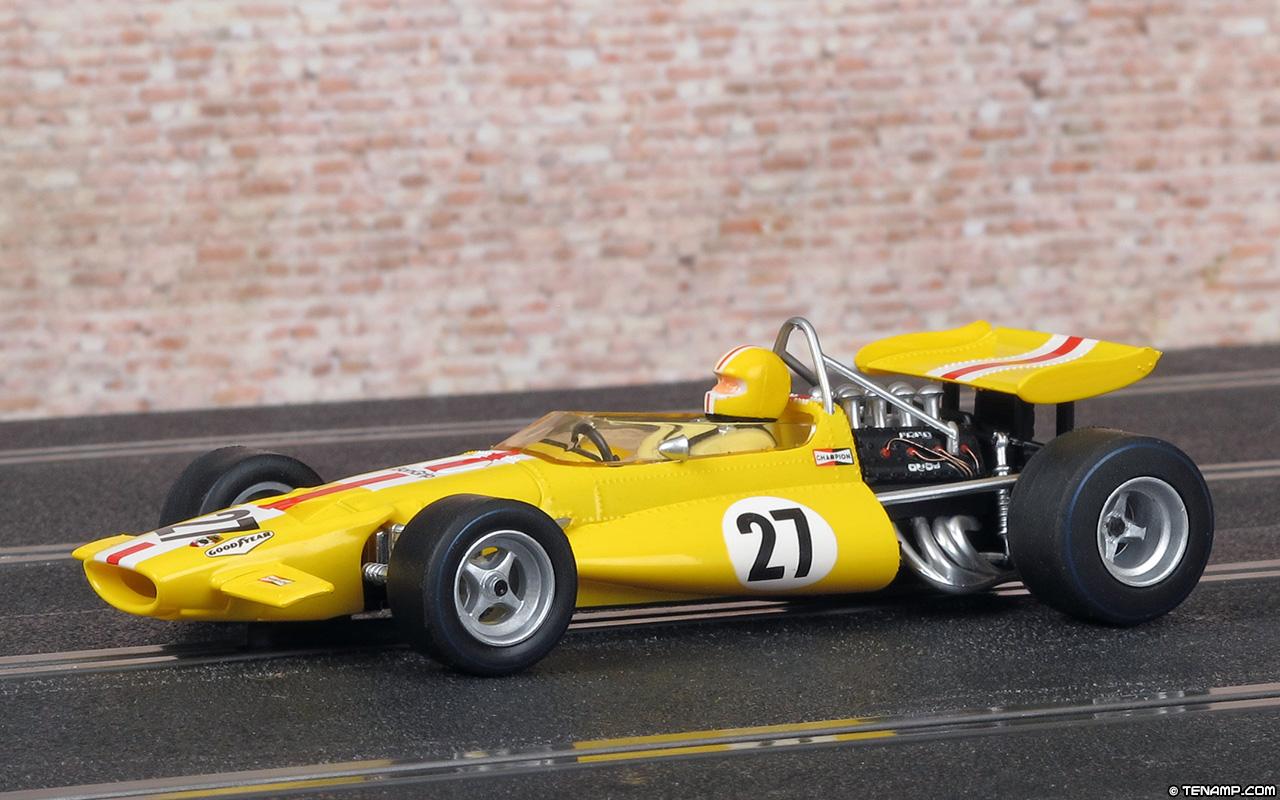 Us Grand Prix >> Scalextric C3698A McLaren M7C - #27 US Grand Prix 1970. Jo Bonnier