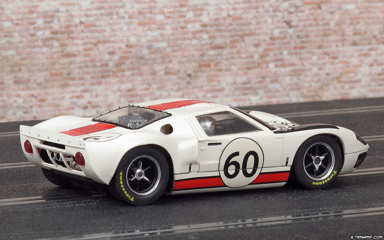 scalextric c3727 ford gt40 60 neerpasch ickx le mans 1966. Black Bedroom Furniture Sets. Home Design Ideas