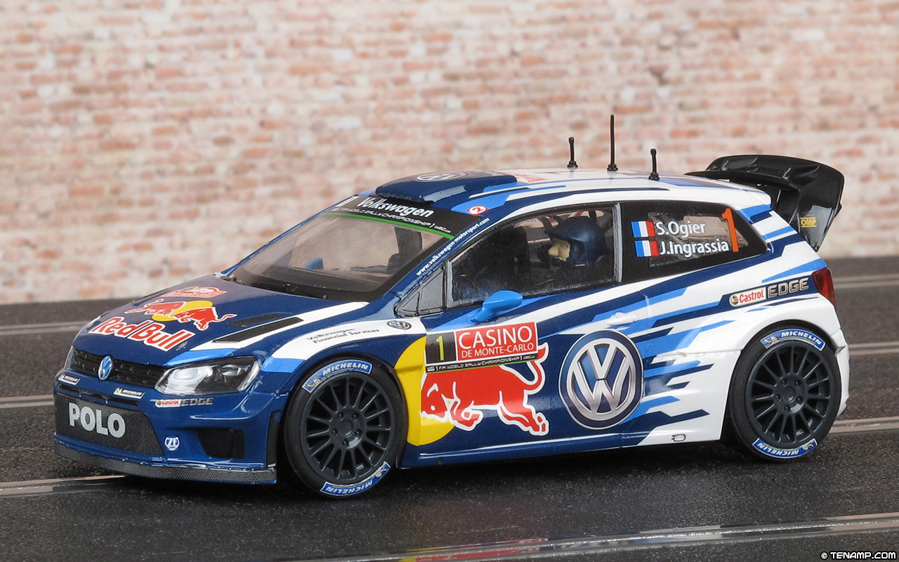 scalextric c3744 volkswagen polo r wrc. Black Bedroom Furniture Sets. Home Design Ideas