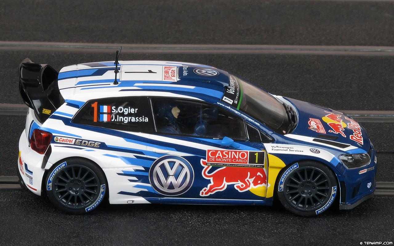 Scalextric C3744 Volkswagen Polo R WRC