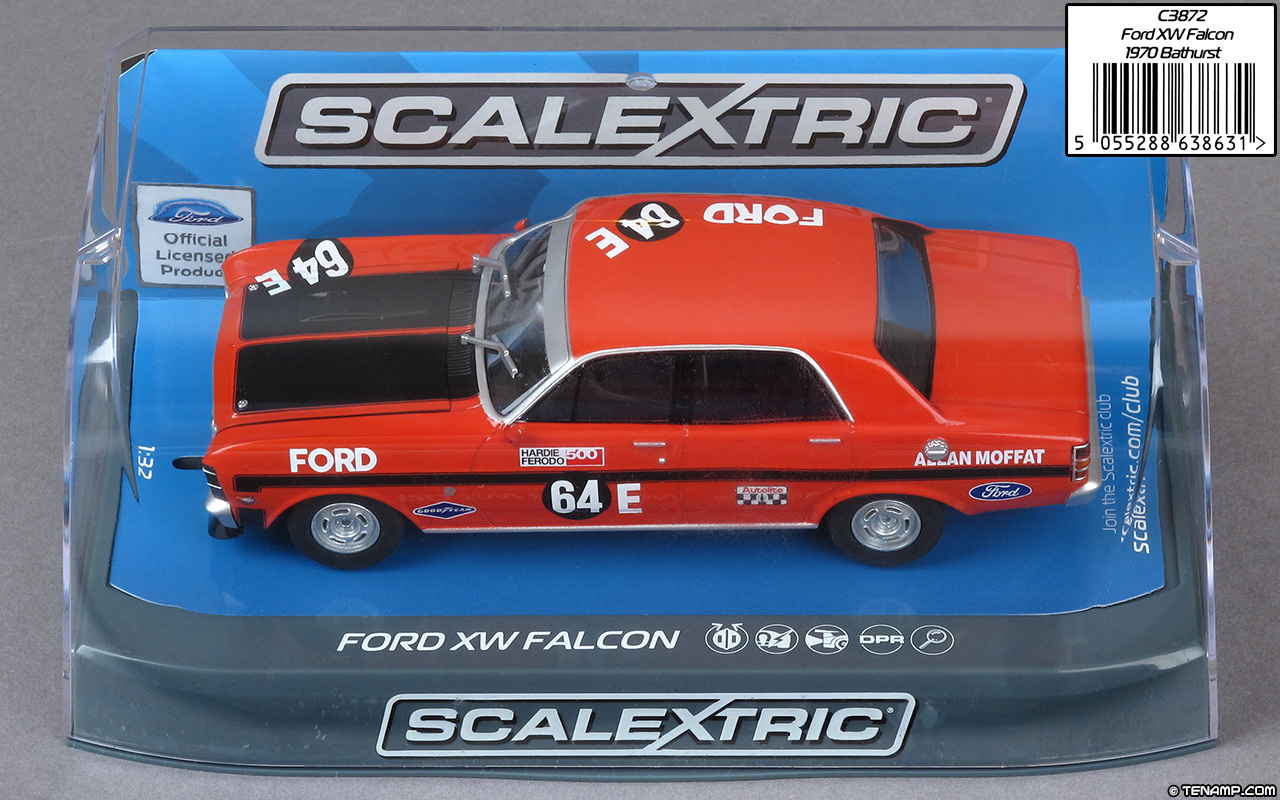Scalextric C3872 Ford XW Falcon GT-HO - Allan Moffat
