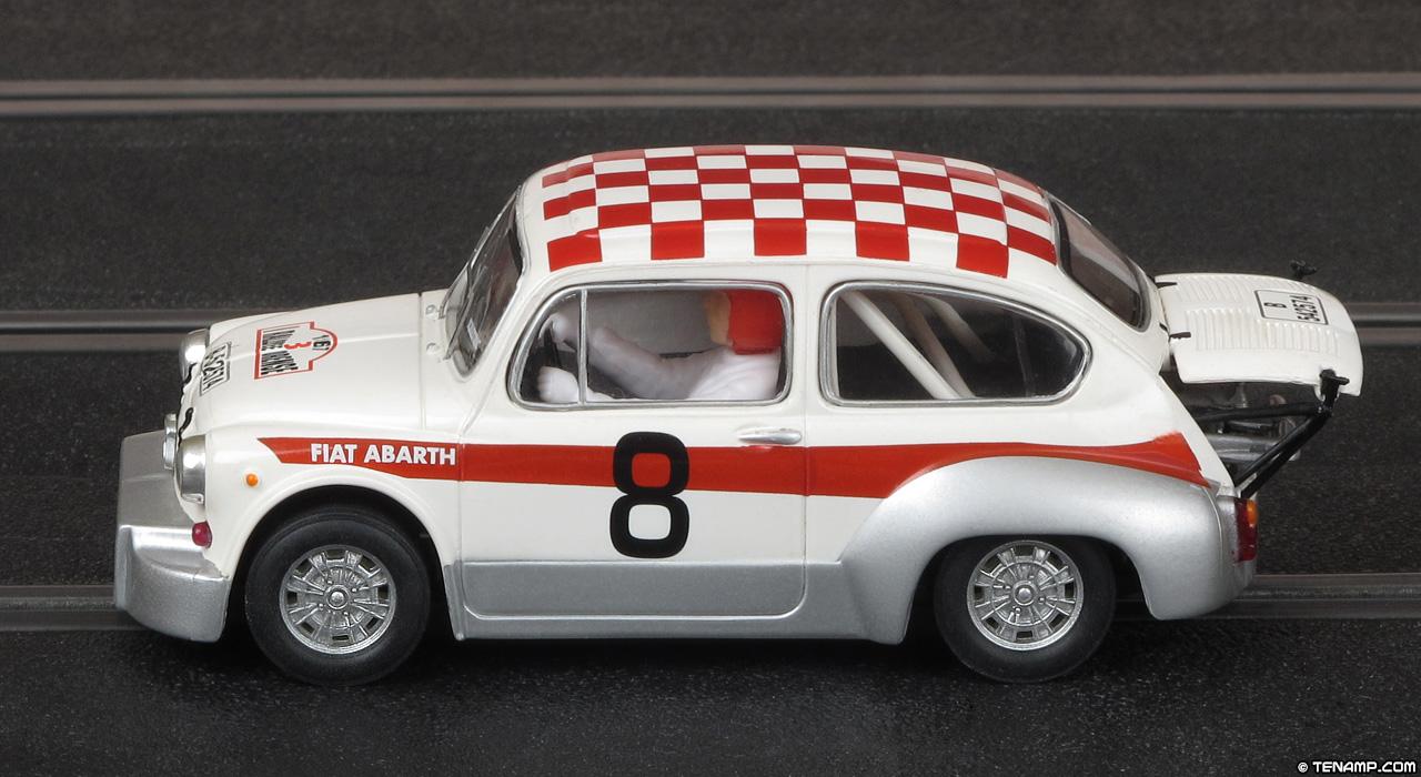 Scalextric Altaya Rallyes De Espana 8 Fiat Abarth 1000 Tc