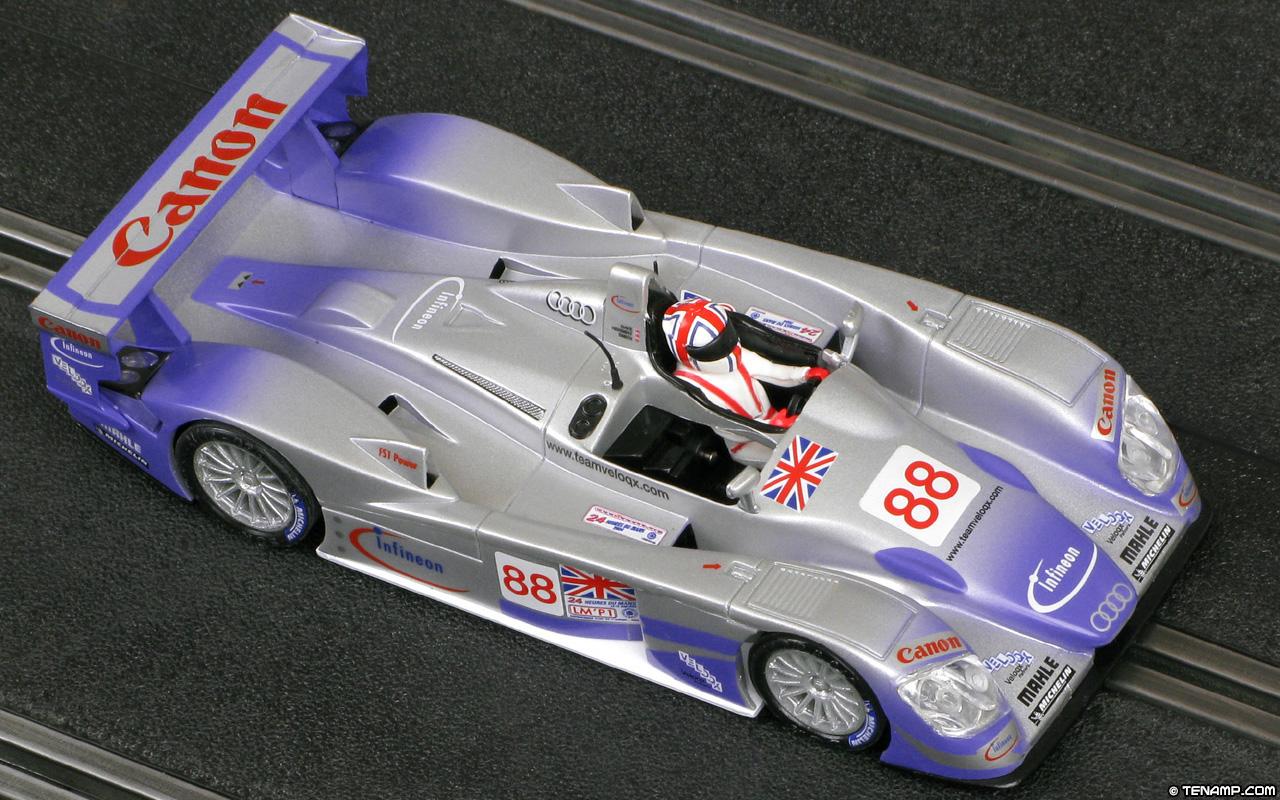Scalextric Planeta Directo Leyendas De Circuito Audi R8
