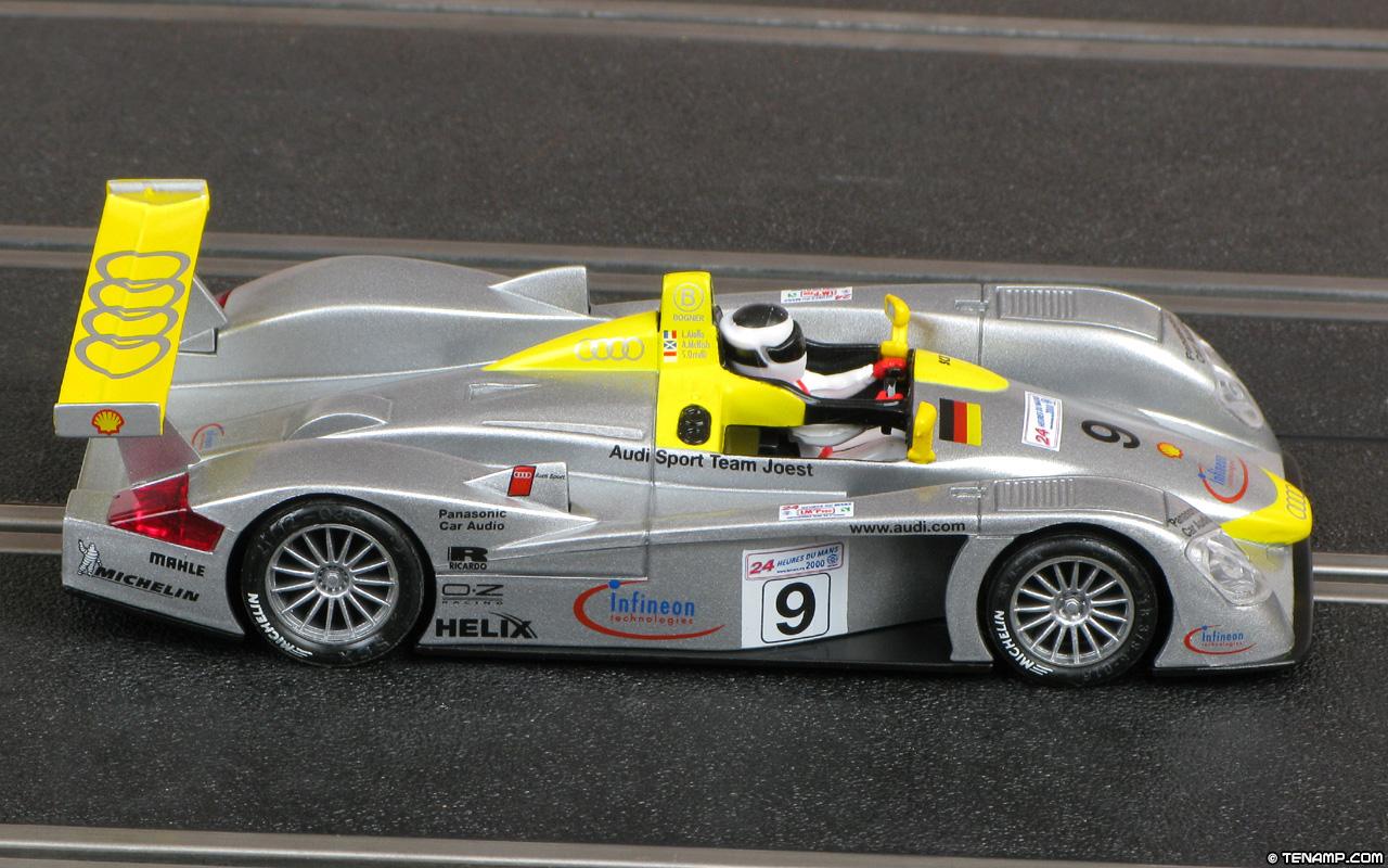 Scx 60760 Audi R8 9 Infineon 2nd Le Mans 24hrs 2000