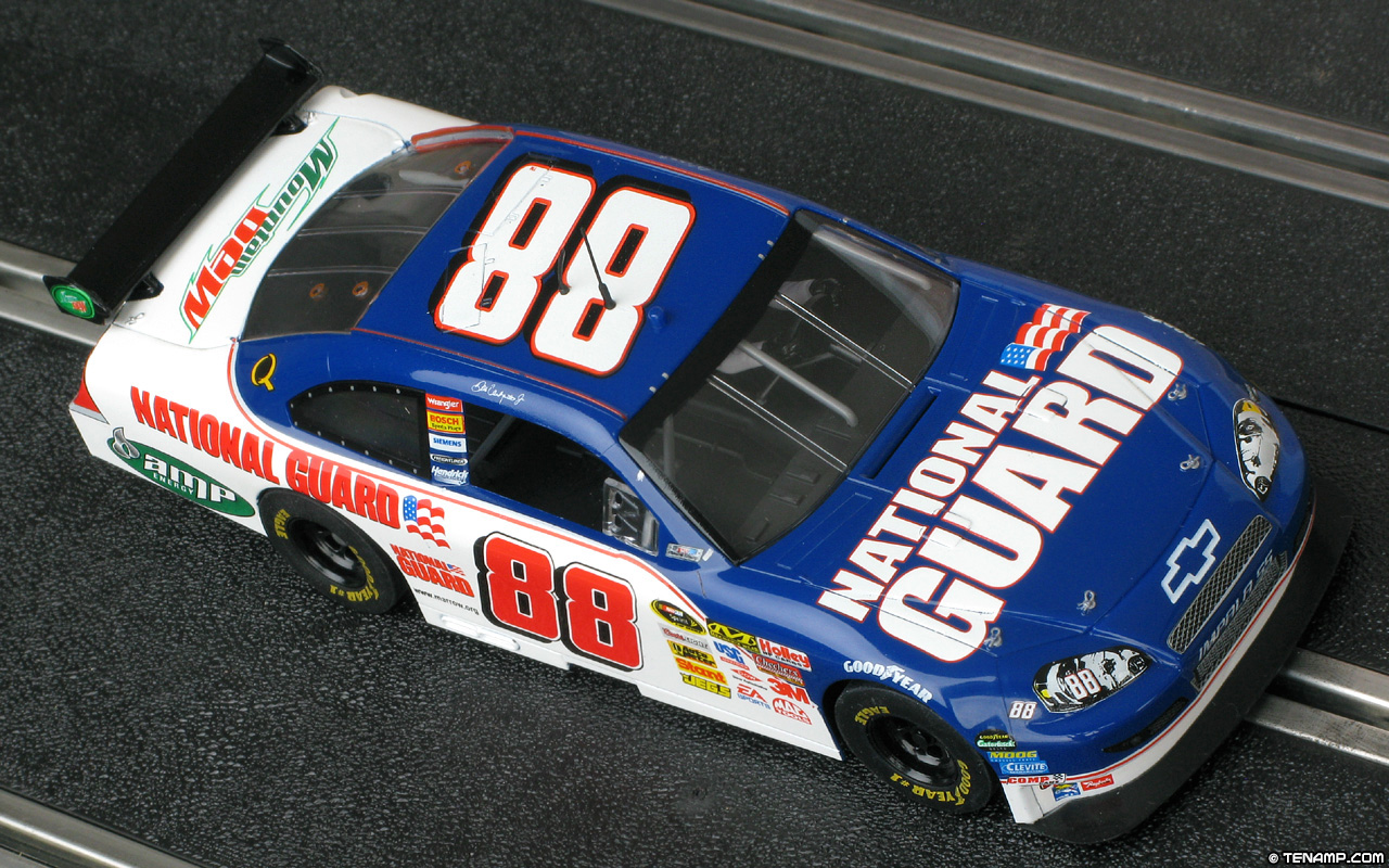 Dale Earnhardt Chevrolet >> SCX 63480 Chevrolet Impala SS - #88 National Guard 2008