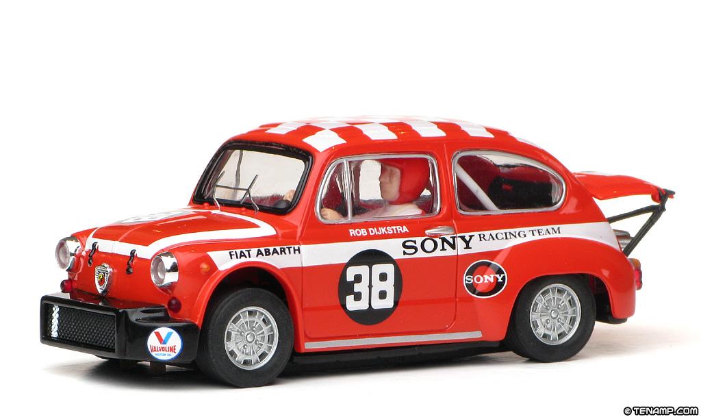 Scx 63850 Fiat Abarth 1000 38 Sony Racing Team