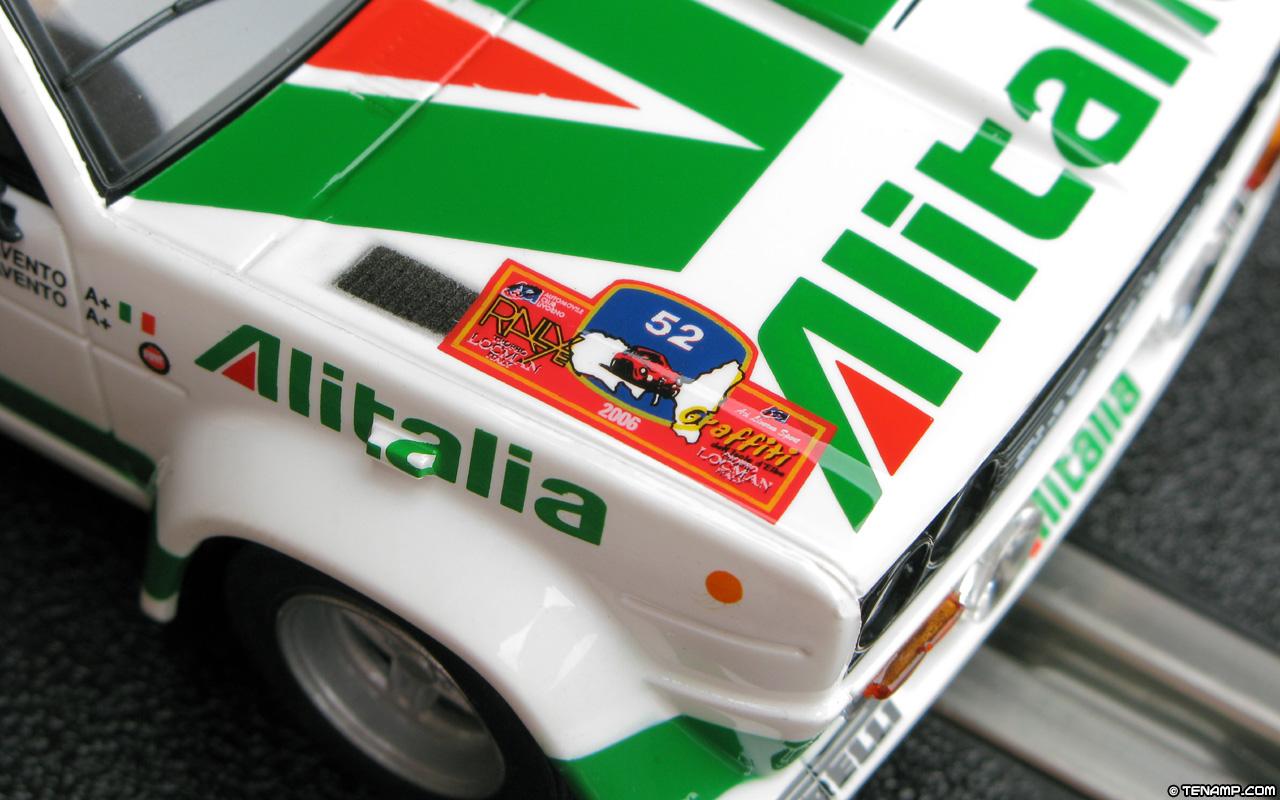 Scx 63890 Fiat 131 Abarth 52 Alitalia Rallye Elba
