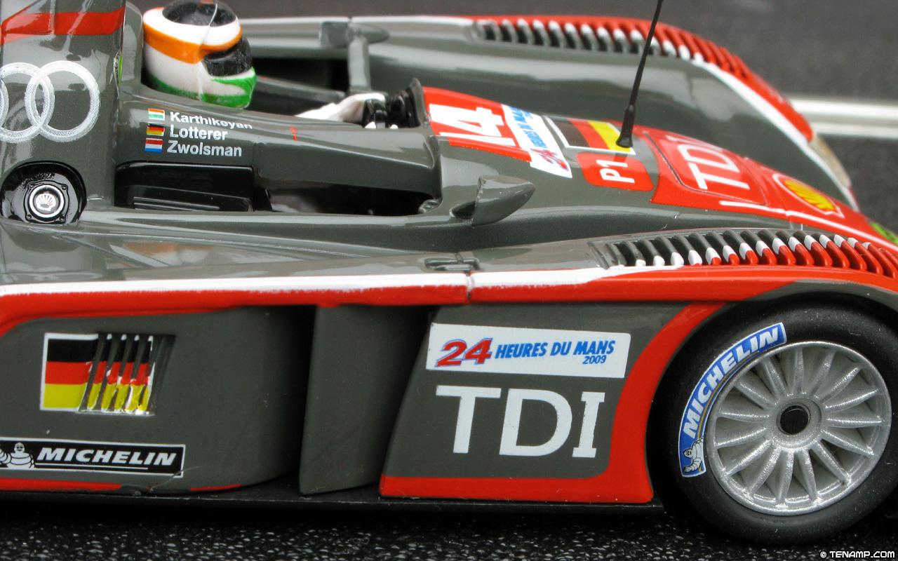 Scx 64490 Audi R10 14 Le Mans 24hrs 2009