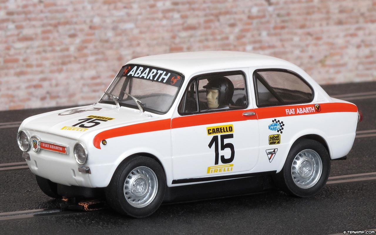 Super SCX 64550 Fiat 850 Abarth - #15 Carello IO39