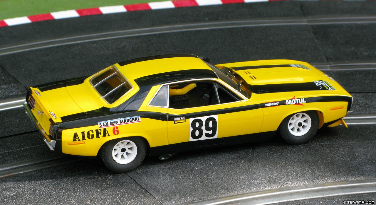 Detailing The Scx Lemans Cuda Slot Car Illustrated Forum