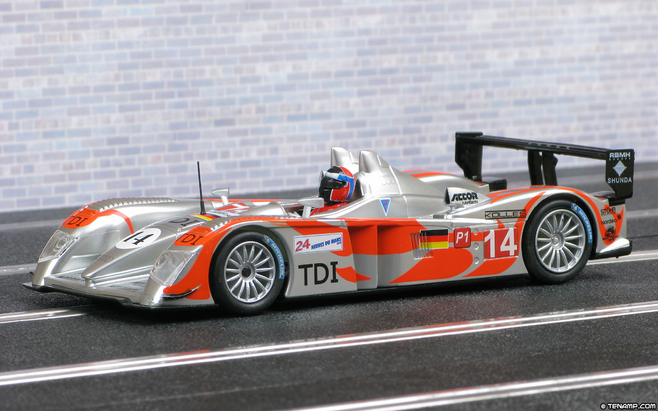 scx a10027x300 audi r10 14 kolles le mans 24hrs 2010. Black Bedroom Furniture Sets. Home Design Ideas