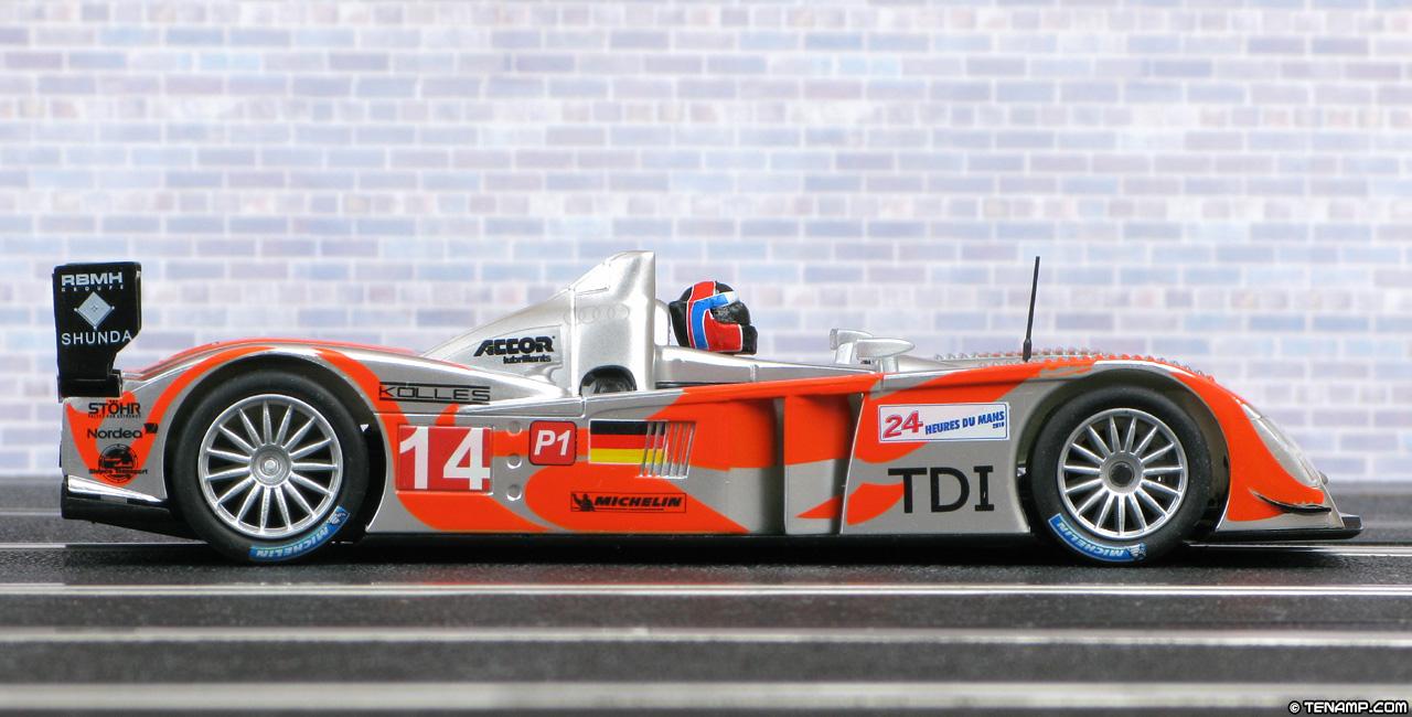 Scx A10027x300 Audi R10 14 Kolles Le Mans 24hrs 2010