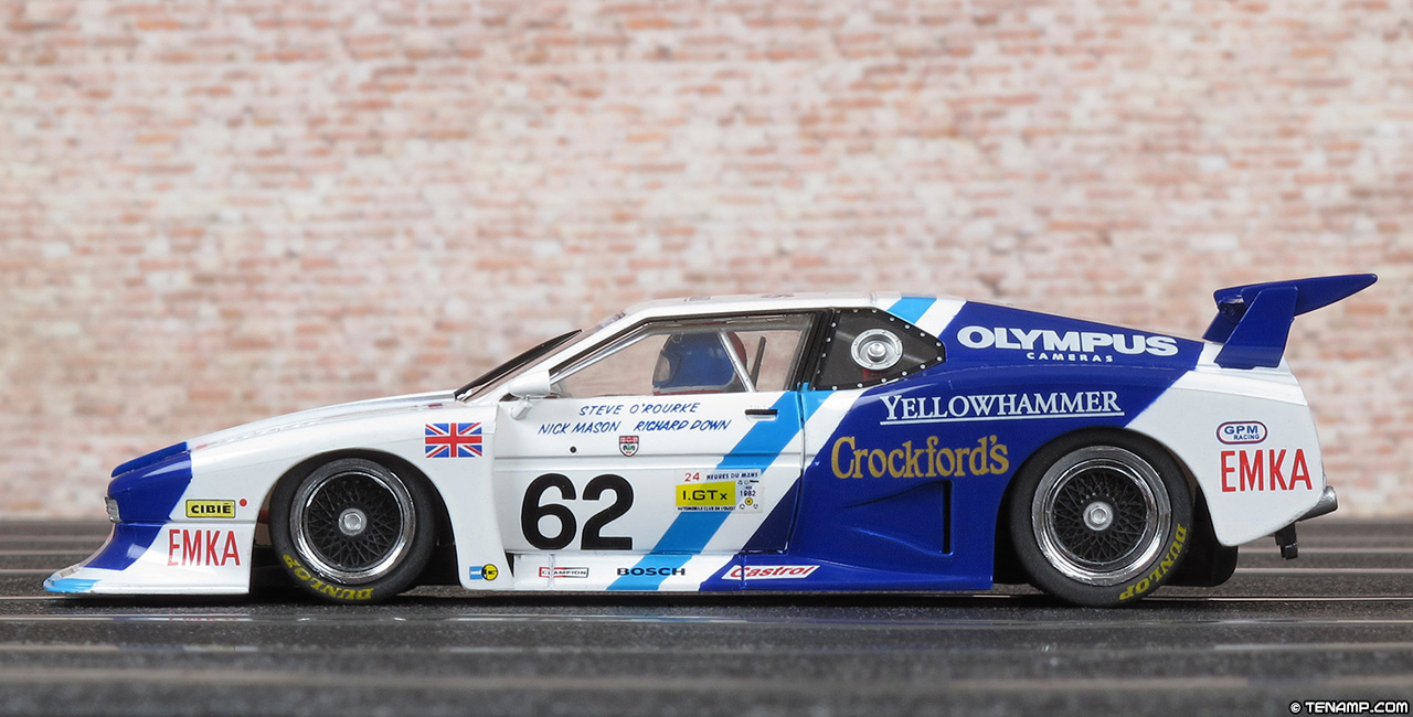 Sideways Sw27 Sauber Bmw M1 Gr5 Olympus Crockfords on straight 5 engine