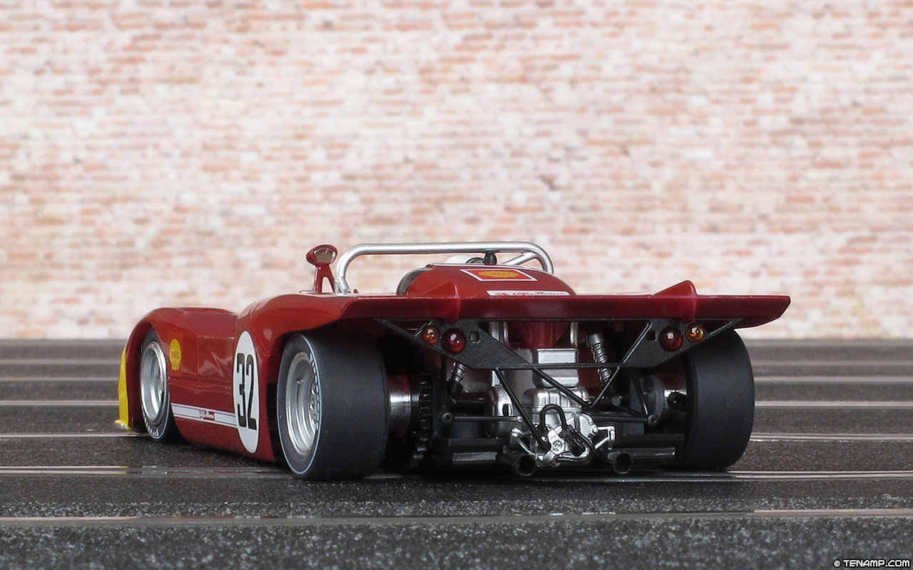 Slot it CA11H Alfa Romeo 33 3 32 3rd place 12 Hours of Sebring