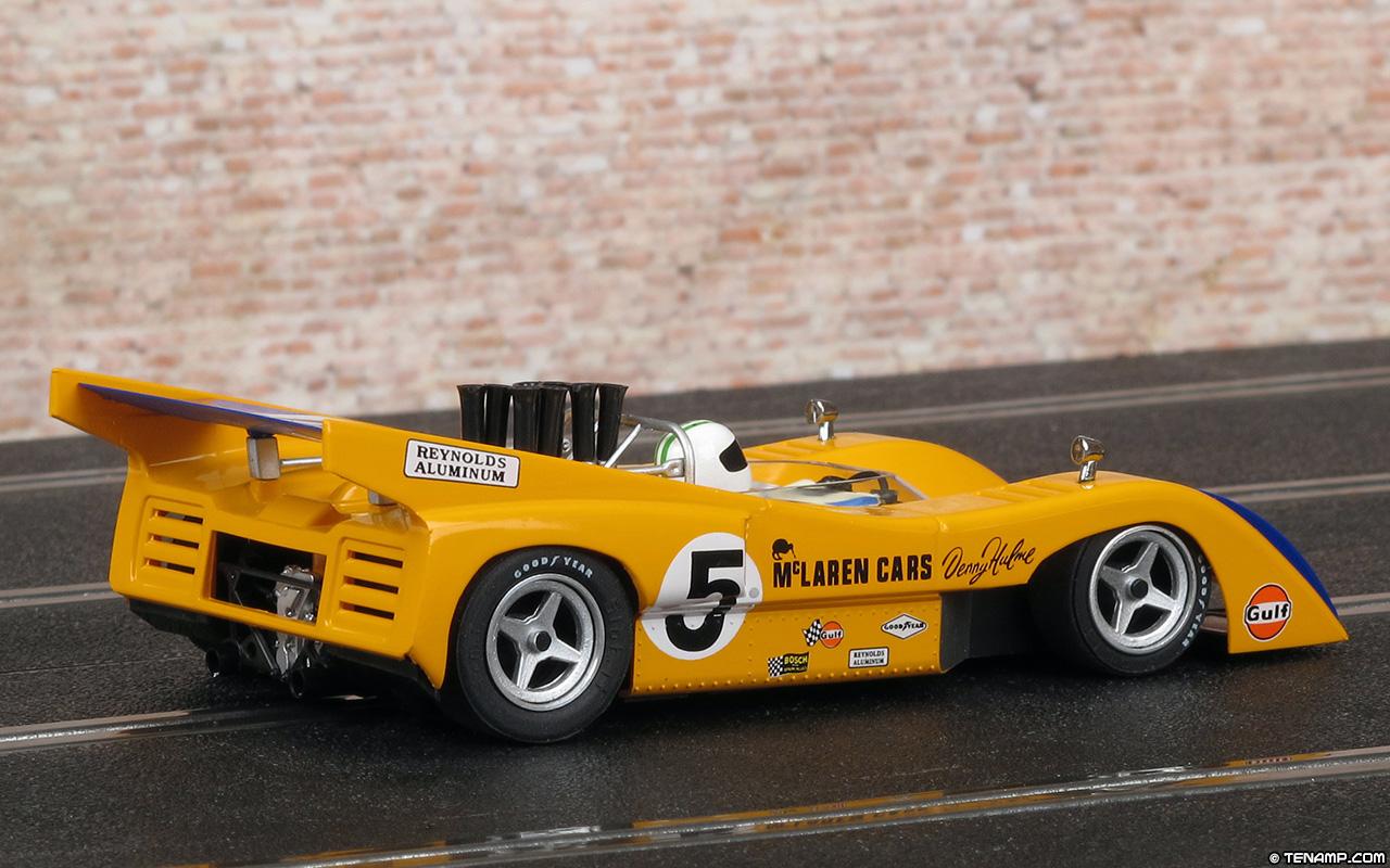 Can Am Car >> Slot.it CA26E McLaren M8D - #5 Denny Hulme, Watkins Glen Can-Am 1970