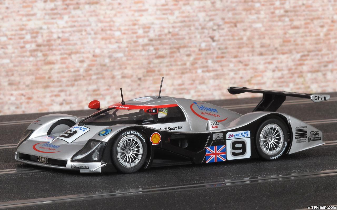 Slot It Sica12b Audi R8c 9 Dnf Le Mans 24 Hours 1999