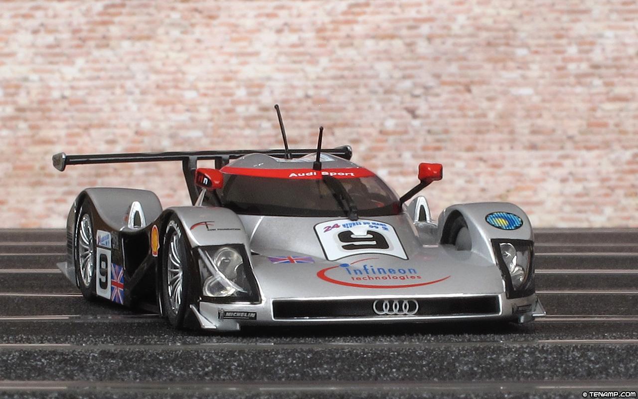 Slot.it SICA12B Audi R8C - #9. DNF, Le Mans 24 Hours 1999